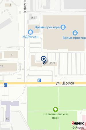 ПТФ-РТИ на карте Кирова