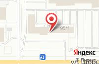 Схема проезда до компании Рене в Кирове
