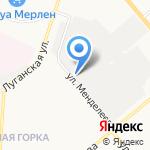 Авторемстрой на карте Кирова