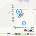 Бетонит на карте Кирова