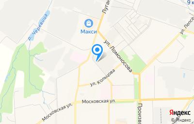 Местоположение на карте пункта техосмотра по адресу г Киров, ул Менделеева, д 4