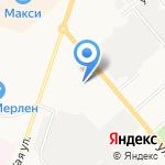 Автошанс 43 на карте Кирова