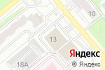 Схема проезда до компании Хризолит в Кирове