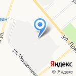 Киров-Лада на карте Кирова