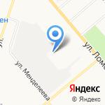 Автотранспортное хозяйство на карте Кирова
