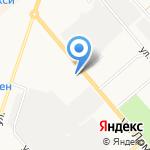 Алмаз на карте Кирова