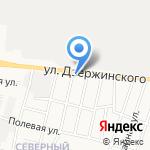 Рябушка на карте Кирова