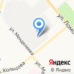 Триос на карте Кирова