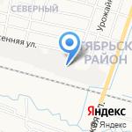 Хлыновстрой на карте Кирова