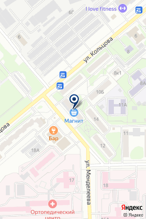 МАГАЗИН АВТОЗАПЧАСТЕЙ АВТОРЕМСТРОЙ на карте Кирова