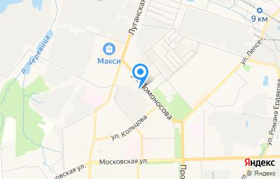 Местоположение на карте пункта техосмотра по адресу г Киров, ул Ломоносова, д 5, пом 1001