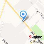 Магазин автозапчастей на карте Кирова