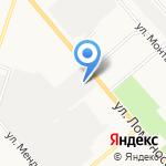 Ривьера на карте Кирова