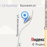 Аверс на карте Кирова