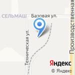 На Базовой на карте Кирова