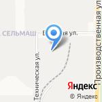 Советская перчаточная фабрика на карте Кирова