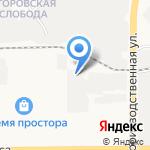 Лона-Плюс на карте Кирова