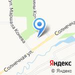 СДЮШОР №1 на карте Кирова