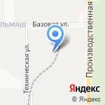 Кировская лесная компания на карте Кирова