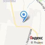 Склад строительных материалов на карте Кирова