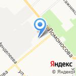 Вятка-Свет на карте Кирова