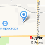 Бренд на карте Кирова