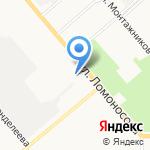 Энергетик на карте Кирова