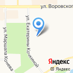 Детский сад №185 на карте Кирова