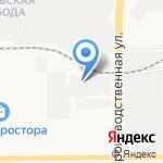 Кировская бумажная компания на карте Кирова