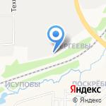 Вятский Посад на карте Кирова