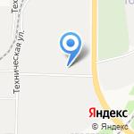 Пилотех на карте Кирова