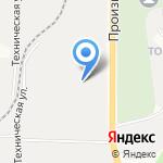 ПСК на карте Кирова