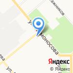 Авто-кор на карте Кирова