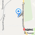 Универсал на карте Кирова