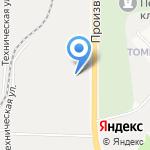 Компания по продаже строительных материалов на карте Кирова