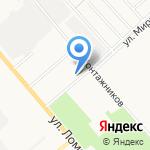 Планета спорта на карте Кирова