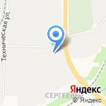 Промальп на карте Кирова