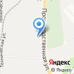 Квадр на карте Кирова