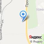 Интеркод на карте Кирова