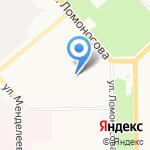 Гимназия №46 на карте Кирова