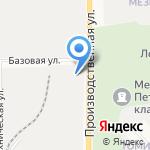 Капитал на карте Кирова