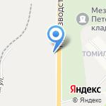Кировский завод на карте Кирова