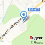 Стройдвор Полатово на карте Кирова