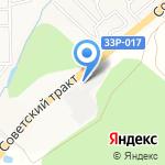 Полатово на карте Кирова