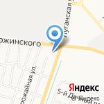 Храм иконы Божией Матери Всех скорбящих Радость на карте Кирова