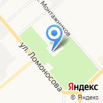 Парк Победы на карте Кирова