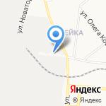У самолёта на карте Кирова