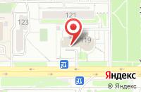 Схема проезда до компании S-Mak в Кирове
