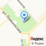 Парк аттракционов на карте Кирова