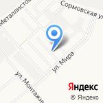 Волго-Вятское Строительное управление на карте Кирова